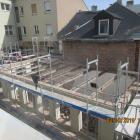 Sanierung + Teilneubau einer Wohnanlage mit 11 Stellplätzen im Parkdeck in Bayreuth