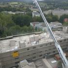 Rückbau 6-geschossiger Wohnblock P2 in Schmalkalden